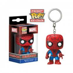 Llavero Pocket Pop Spiderman Marvel - Funko