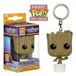Llavero Pocket Pop Dancing Groot Guardianes de la Galaxia - Funko