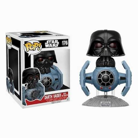 Figura Funko Pop Darth Vader With Tie Fighter Star Wars - Exclusiva