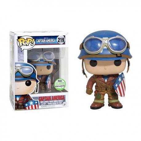 Figura Funko Pop Capitan America Primer Vengador - Exclusiva