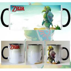 Taza The Legend Of Zelda Link