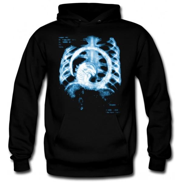 Sudadera Alien Radiografia