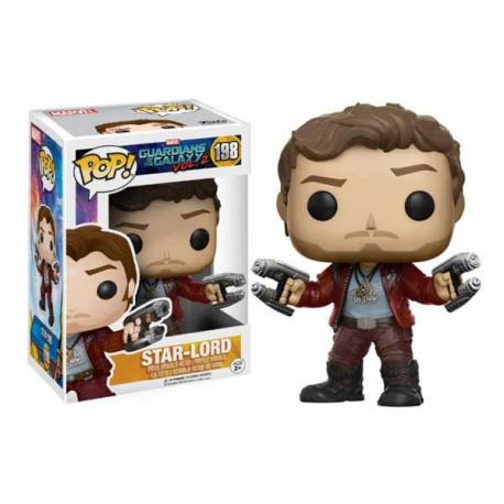 Figura Funko Pop Star-Lord Guadianes de la Galaxia Vol. 2