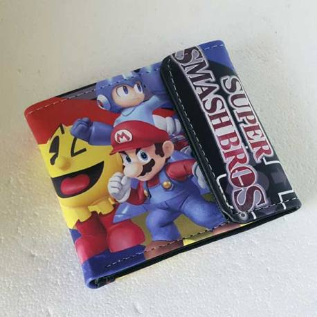 Cartera Super Smash Bros Nintendo