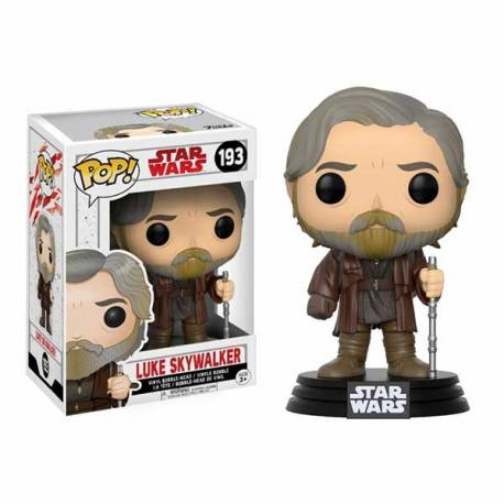 Figura Funko Pop Luke Skywalker Star Wars Episodio VIII The Last Jedi