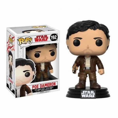 Figura Funko Pop Poe Dameron Star Wars Episodio VIII The Last Jedi