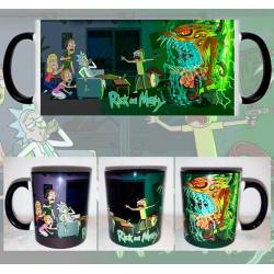 Taza Rick y Morty