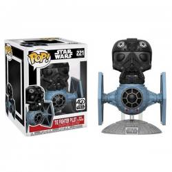 Figura Funko Pop Tie Fighter Pilot With Tie Fighter Star Wars