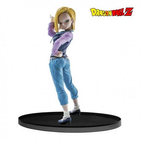 Figura Dragón Ball Android 18