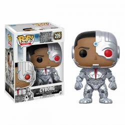 Figura Funko Pop Justice League Cyborg