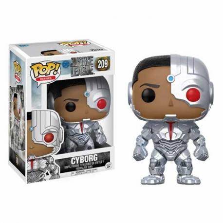 Figura Funko Pop Justice League Cyborg