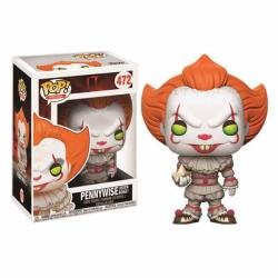 Figura Funko Pop It Pennywise Ojos Amarillos With Boat