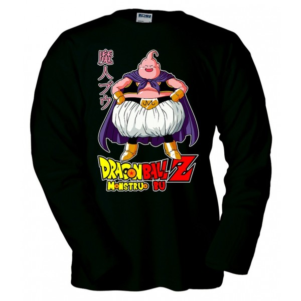 Camiseta Dragon Ball monstruo Boo manga larga - Majin Boo