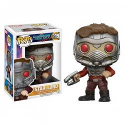 Funko Pop Star-Lord Con Máscara Guardianes de la Galaxia Volumen 2 - Exclusiva