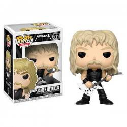 Figura Funko Pop Metallica James Hetfield
