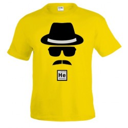 Camiseta Heisenberg Whater White diseño gorro gafas - Breaking Bad