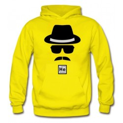 Sudadera Heisenberg Whater White diseño gorro gafas - Breaking Bad