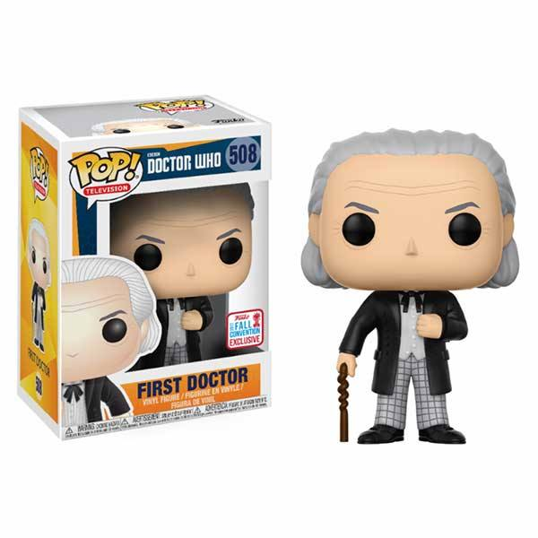Figura Funko Pop Doctor Who First Doctor - Exclusiva NYCC 2017