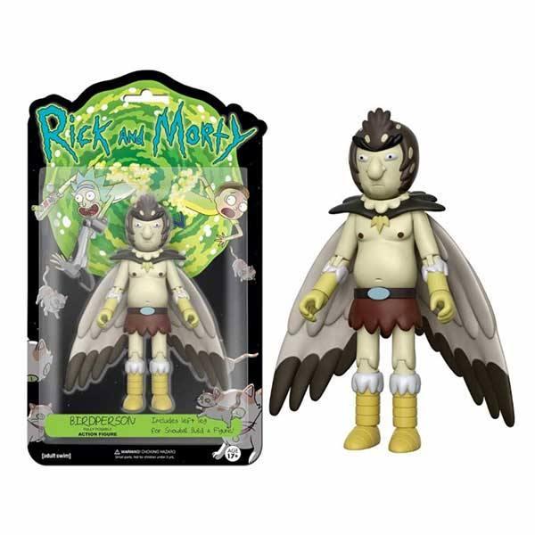 Figura Rick and Morty Bird Person - Hombre Pájaro - Funko