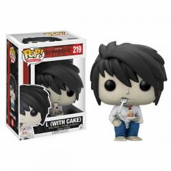 Figura Funko Pop Death Note L With Cake - Exclusiva
