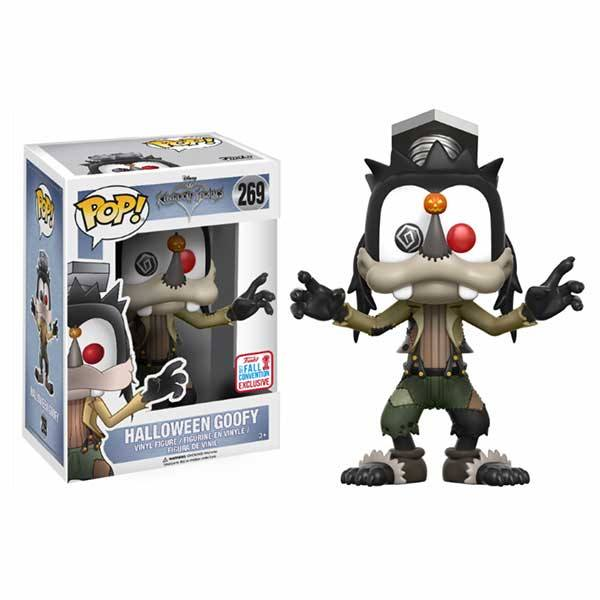 Funko Pop Kingdom Hearts Halloween Goofy - Exclusivo NYCC 2017