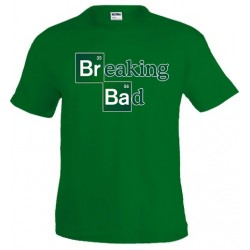 Camiseta Breaking Bad Logo custom - Marcaestilo