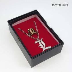 Set colgante y anillo Death Note - L
