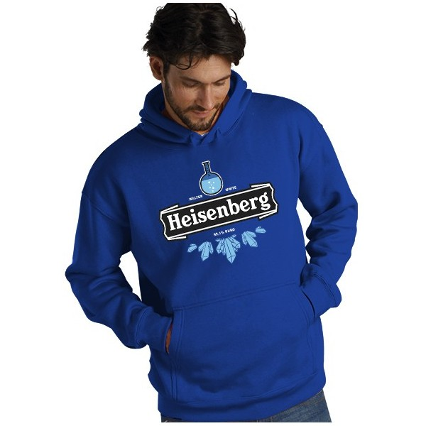 Sudadera Breaking Bad Heisenberg 99,1% puro
