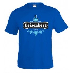 Camiseta Breaking Bad Heisenberg 99,1 pura