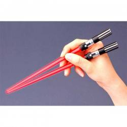 Star Wars Palillos Sable Laser Darth Vader - Con luz