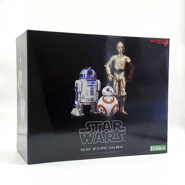 Pack de figuras Star Wars R2-D2, C-3PO y BB-8