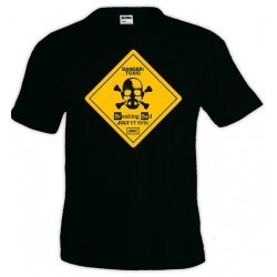 Camiseta Breaking Bad Danger toxic - Marcaestilo