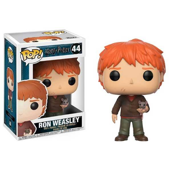 Figura Funko Pop Harry Potter Ron Weasley Scabbers