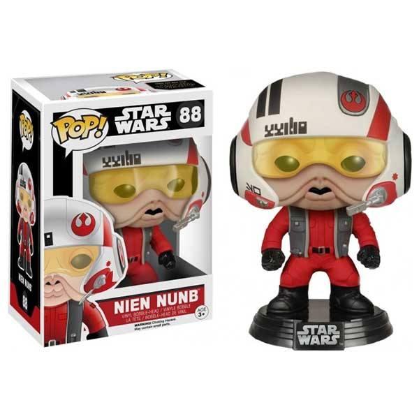Figura Funko Pop Star Wars Nien Nunb Con Casco - Exclusiva