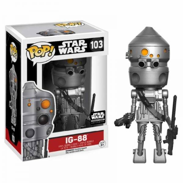 Figura Funko Pop Star Wars IG-88 Smuggler's Bounty