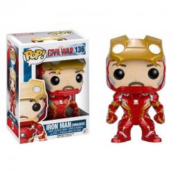 Funko Pop Iron Man Unmasked Capitan America Civil War - Exclusiva