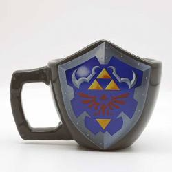 Taza Legend of Zelda Escudo Hyliano 3D