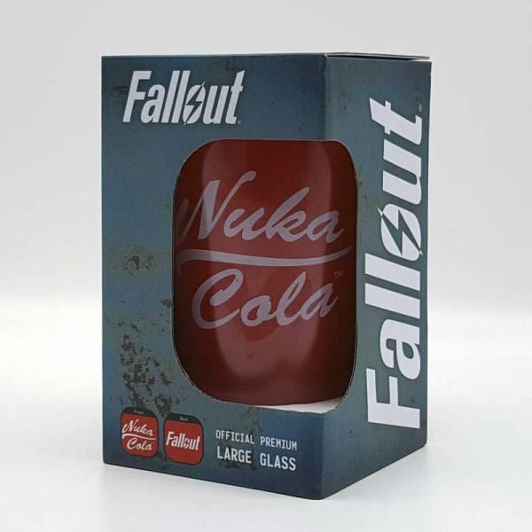 Vaso de Cristal Nuka Cola Fallout