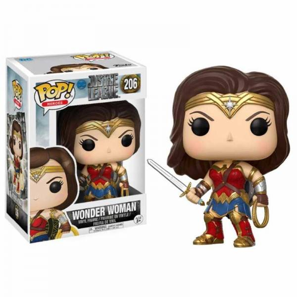 Figura Funko Pop Justice League Wonder Woman