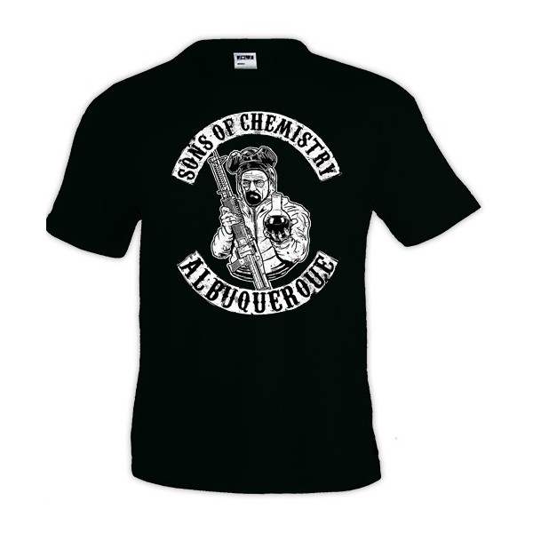 Camiseta heisenberg Sons of Chemistry - Breaking Bad