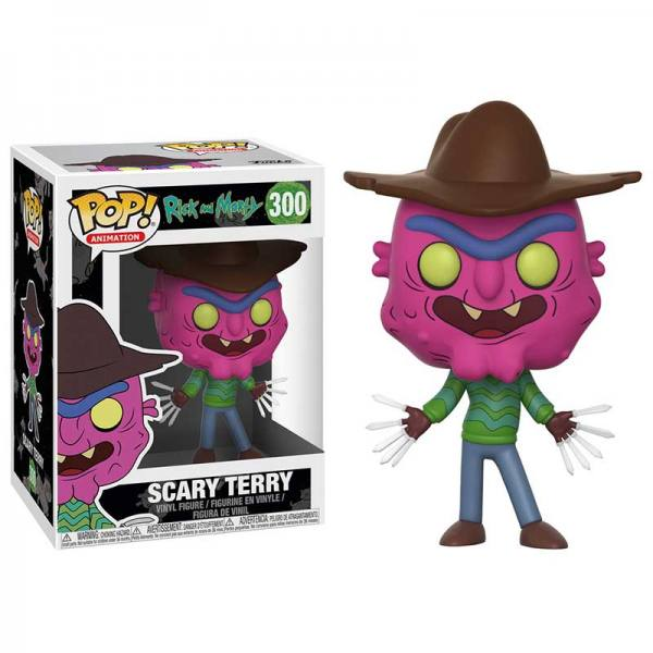 Figura Funko Pop Rick And Morty Scary Terry