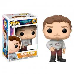 Funko Pop Guardianes de la Galaxia Volumen 2 Star-Lord - Exclusiva