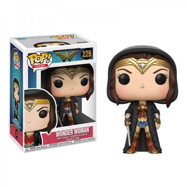 Figura Funko Pop Wonder Woman Mujer Maravilla Capa
