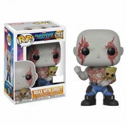Funko Pop Drax con Groot Guardianes de la Galaxia Volumen 2 - Exclusiva