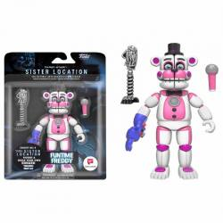Figura FNAF Sister Location Funtime Freddy - Exclusiva