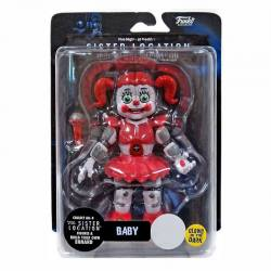 Figura FNAF Sister Location Baby - Exclusiva - Brilla en la Oscuridad