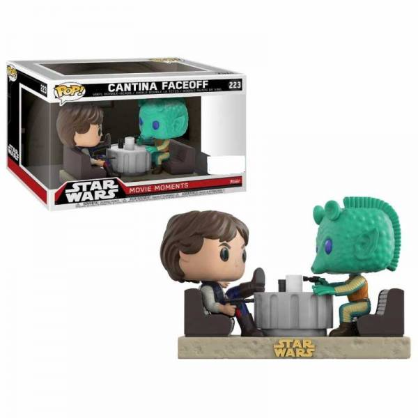 Funko Pop Star Wars Movie Moments Han Solo & Greedo Cantina Faceoff - Exclusiva