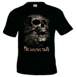 Camiseta Walking Dead Skull Inside Me