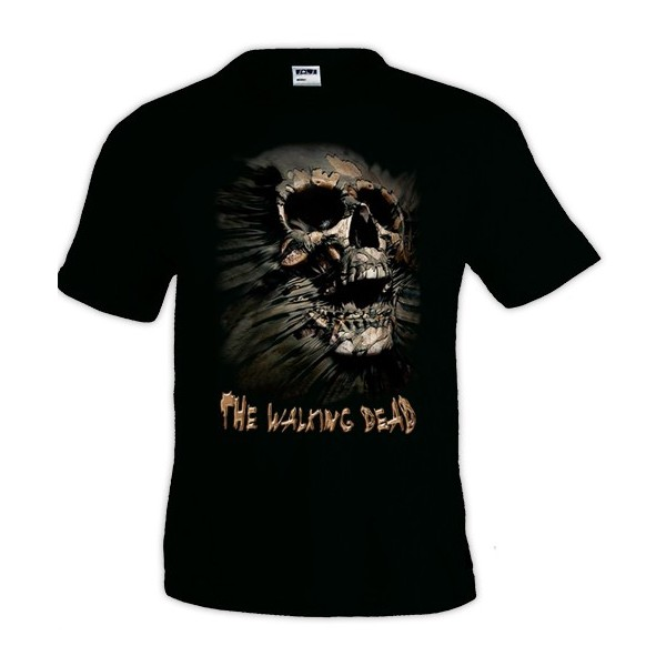 Camiseta The Walking Dead Skull Inside Me