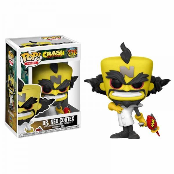 Figura Funko Pop Crash Bandicoot Dr. Neo Cortex